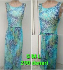 Novi dolgi letni fustani dostapni S M i L
