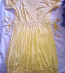 zolto fustance /tunika za povisoki