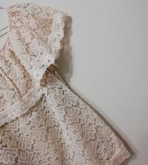 Скроз нова чипкана блузичка