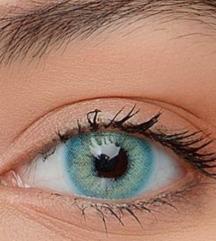 Контактни леќи во боја