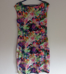 Шарен летен фустан