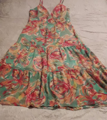 Долг цветен фустан