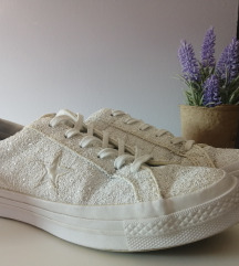 Оригинал Converse One Star Silver-White Glitter