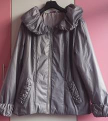 NOVA srebreno siva jakna XL/XXL