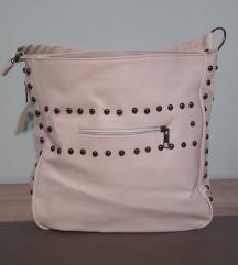 Kремаво-бела чанта