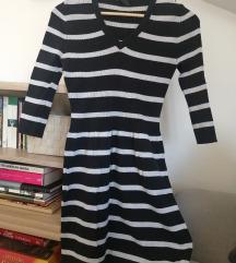 MANGO плетено мини фустанче - речиси ново