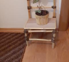 Dekorativno stolce od bambus