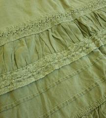 Maslinest fustan
