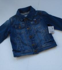 Jeans jakna C&A Nova so etiketa 18M