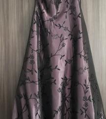 Уникатен свечен фустан