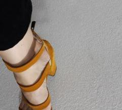 Жолти сандали