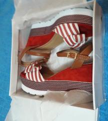 Novi mornarski crveni sandali