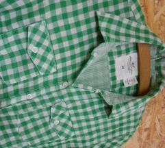 Zeleno bela H&M kosula