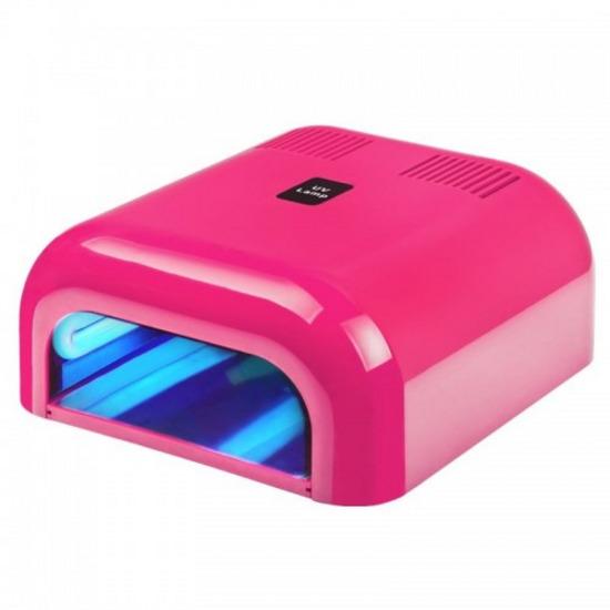 UV lamba pink