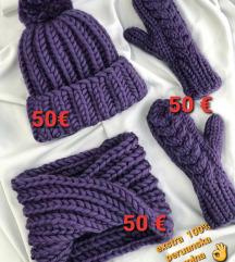 Exstra luksuzen topol set - 100% peruvian wool