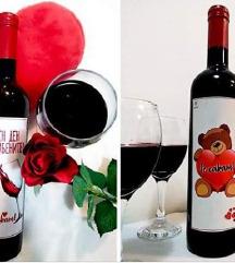 Вино..Валенајн..Со посвета