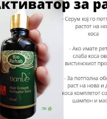 Tonik aktivator za rast na kosa