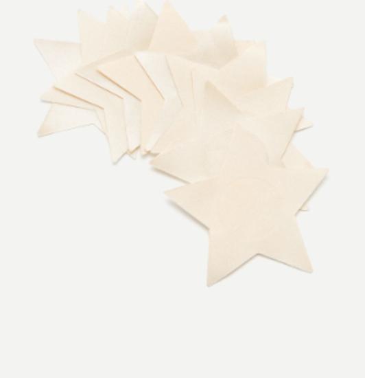 Налепници за гради во форма на ѕвезди