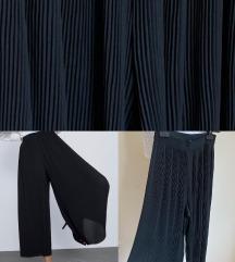 Zara pantaloni palazzo plesirani