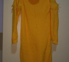 Zimski fustan so rolka