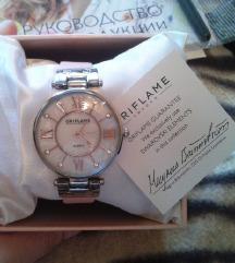 Quartz луксузен часовник со swarowski елементи