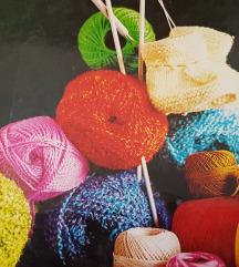 Книга за плетење,везење,шиење