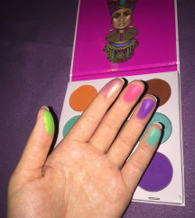 The Zulu palette by Juvias Place