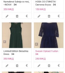 Novi fustancinja za maturi i polumaturi