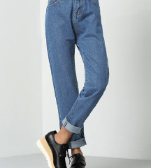💙 Mom Jeans ; со етикета