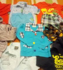 Комплет брендирана облека и обувки за до 24 месеци