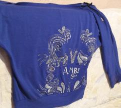 Плава блуза