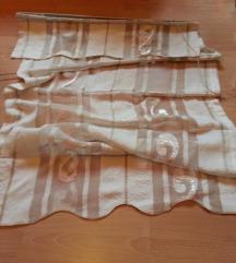 nova Zavesa sirina 90cm --- dolzina 1.30 cm