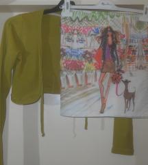 H&M Suknja letna vel S-200 den