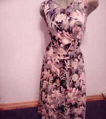 Preubav cveten fustan