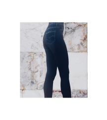 Хеланка-фармерка со висок струк