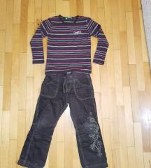 Pantoloni H&M i bluza 6 god