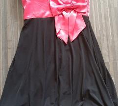 👉Црн фустан со панделка * 500 ден