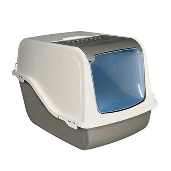 Тоалет за мачки со филтер и лопатка