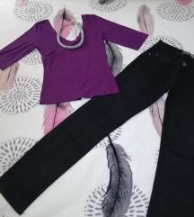 Bluze novo - HAPPENING + farmerki