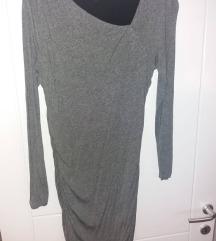 H&M сив фустан