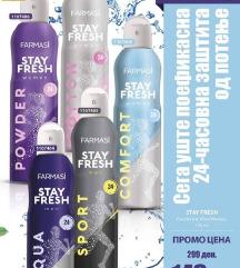 Stay fresh dezodoransi