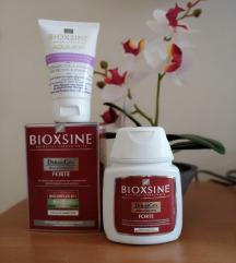 НОВИ BIOXINE шампон(против опаѓање) + крема.