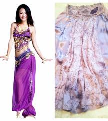 Orientalna violetava suknja