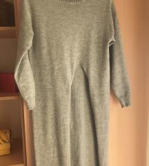 Плетен Фустан со Шлиц