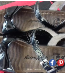 👣Peko👣 koženi sandali br.38