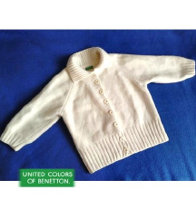 'Beneton' волнено џемперче до 2 г.