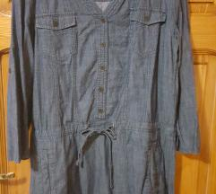 Tom Tailor zenska jeans kosula fustan 38