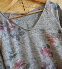 NOVO Siv pastelen fustan