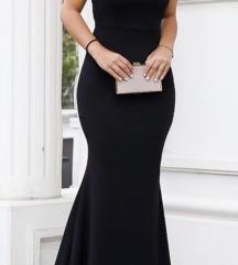 Crn dolg fustan