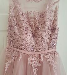 Свечен нов фустан со етикета l S/M